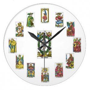 medir tiempo en el Tarot
