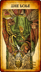 El Papa invertido Tarot