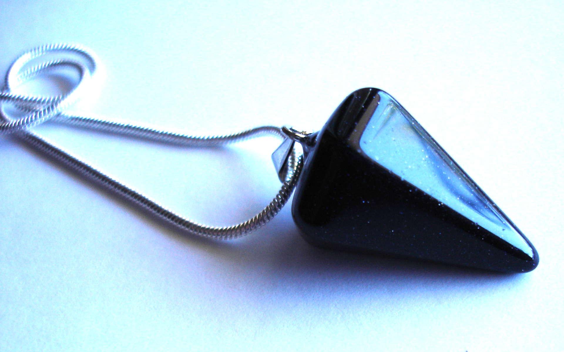 Péndulo de aventurine glass