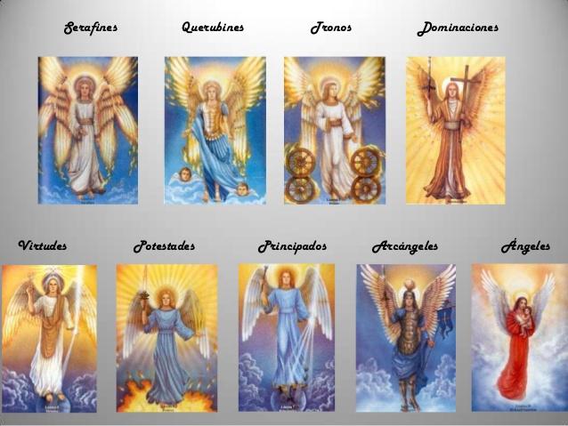 Tipos de ángeles